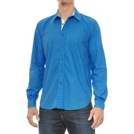 Barbour Rathburn Shirt - Spread Collar, Long Sleeve (For Men)
