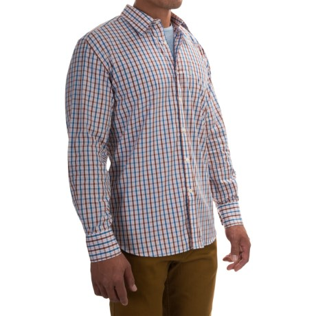 Barbour Corbridge Cotton Shirt - Button Front, Long Sleeve (For Men)