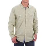 Barbour International Davison Gingham Print Shirt - Cotton, Button Front, Long Sleeve (For Men)