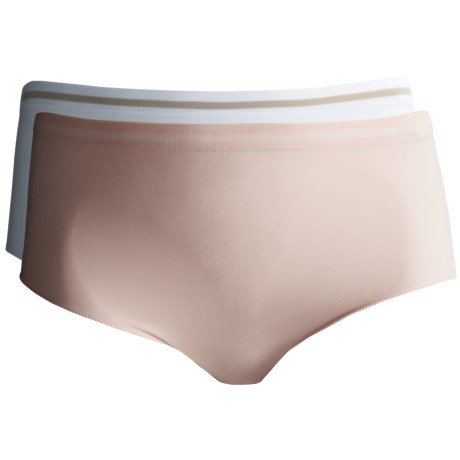 Ellen Tracy Seamless Panties - Full-Cut Briefs, 2-Pack (For Women)