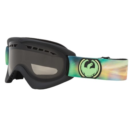 Dragon Alliance DX Ski Goggles - Smoke Lens