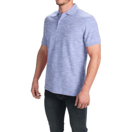 Barbour Sports Polo Shirt - Short Sleeve (For Men)
