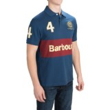 Barbour Cavalry Polo 4 Shirt - Short Sleeve (For Men)