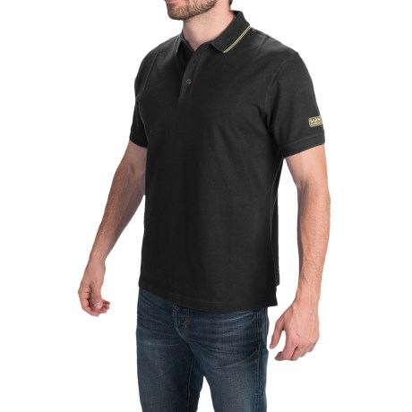 Barbour International Cotton Polo Shirt - Short Sleeve (For Men)