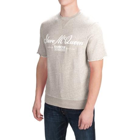 Barbour International Colorado Sweatshirt - Short Sleeve (For Men)