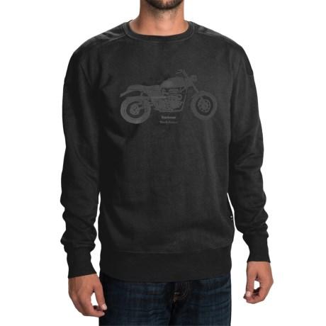 Barbour Machine Sweatshirt - Crew Neck (For Men)