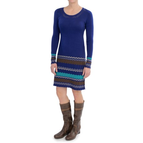Aventura Clothing Mira Dress - Organic Cotton Blend, Long Sleeve (For Women)