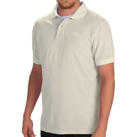 Barbour Flow Laundered Polo Shirt - Short Sleeve (For Men)