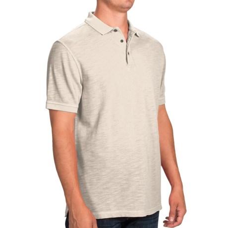 Barbour International Washed Polo Shirt - Short Sleeve (For Men)