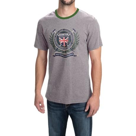 Barbour Cotton T-Shirt - Short Sleeve (For Men)
