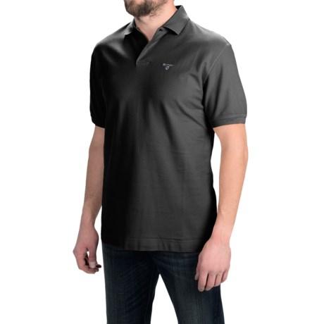 Barbour Polo Shirt - Short Sleeve (For Men)