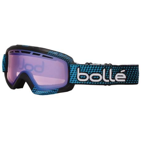 Bolle Nova 2 Ski Goggles - Modulator Vermillion Photochromic Lens