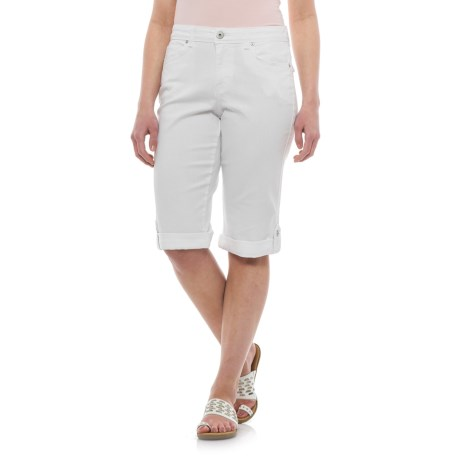 Specially made Skimmer Cuffed Bermuda Shorts (For Women)