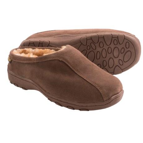 Old Friend Footwear Alpine Slippers - Sheepskin Lining (For Men and Women)