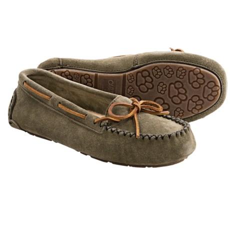 Old Friend Jemma Moc Slippers - Sheepskin Footbed (For Women)
