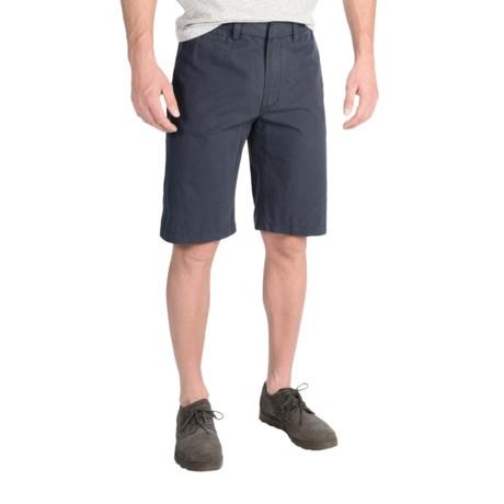Barbour Cotton Shorts - Flat Front (For Men)