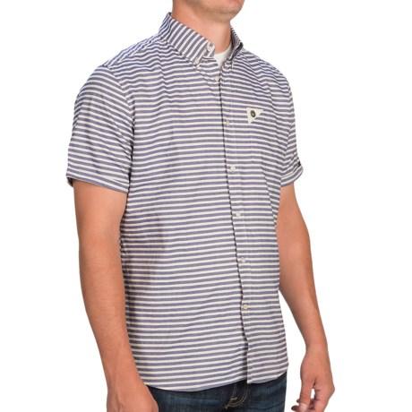 Barbour Lawrence Laundered Shirt - Short Sleeve (For Men)