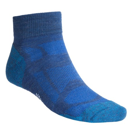 SmartWool Outdoor Sport Light Socks - Merino Wool, Ankle (For Men)