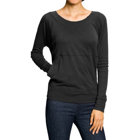 NAU Basis V-Back Shirt - Organic Cotton, Long Sleeve (For Women)