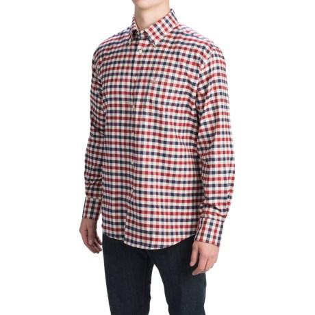 Barbour Button-Front Cotton Shirt - Long Sleeve (For Men)