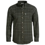 Barbour Brushed Cotton Shirt - Long Sleeve (For Men)