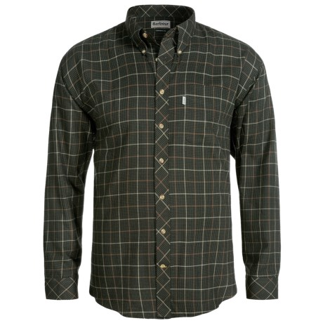 Barbour Brushed Cotton Shirt - Long Sleeve (For Men)