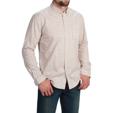 Barbour Collared Cotton Shirt - Long Sleeve (For Men)