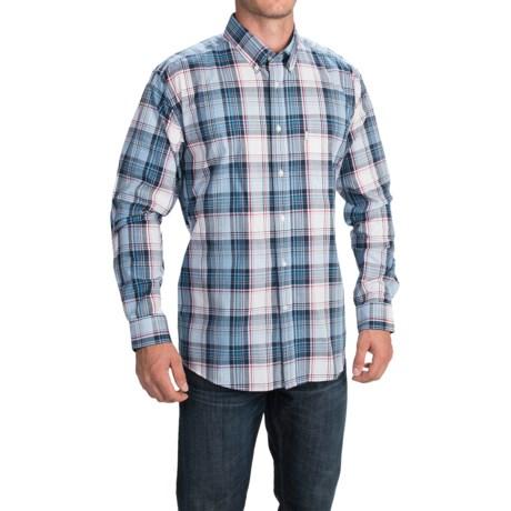 Barbour Cotton Shirt Single-Pocket Shirt - Long Sleeve (For Men)