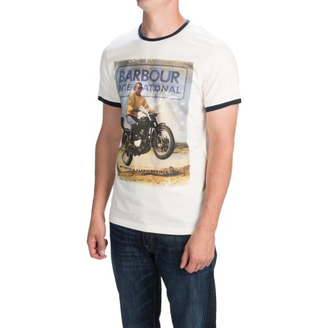 Barbour Printed Knit T-Shirt - Short Sleeve (For Men)