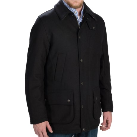 Barbour Ackergill Coat - Wool Blend (For Men)