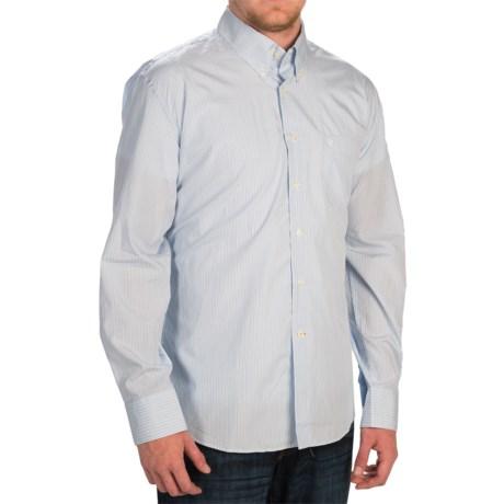 Barbour Pelton Shirt - Button Front, Long Sleeve (For Men)