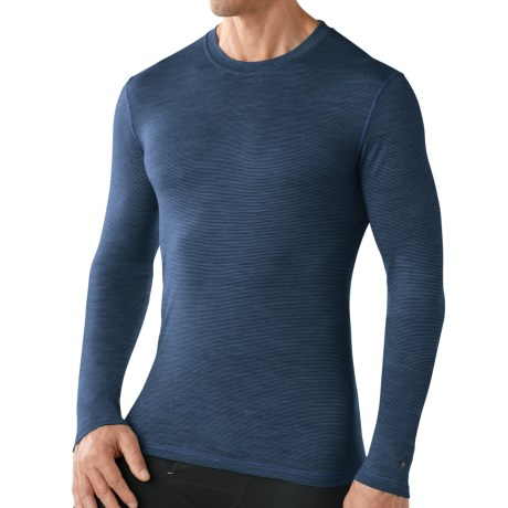 SmartWool Smartwool NTS Micro 150 Pattern Base Layer Top - Merino Wool, Long Sleeve (For Men)