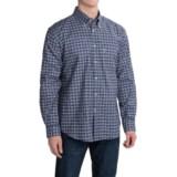 Barbour Bisley Cotton Shirt - Corduroy Trim, Long Sleeve (For Men)