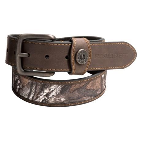 Realtree 40mm Camo Insert Shot Shell Belt (For Men)