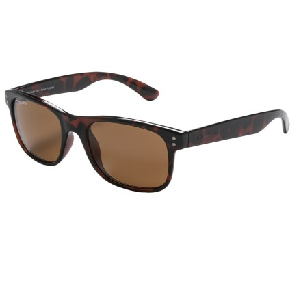 Coyote Eyewear Jake Sunglasses - Polarized in Tortoise/Brown - Closeouts