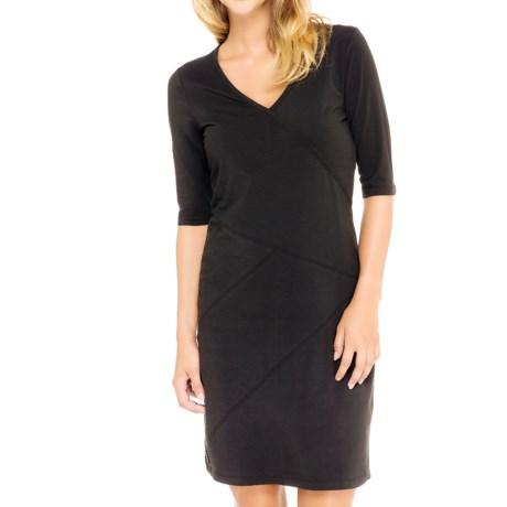 Lole Leena Organic Cotton Dress - UPF 50+, 3/4 Sleeve (For Women)