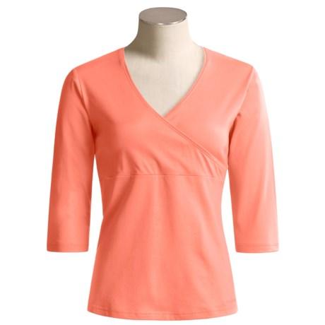 Columbia Sportswear Asymmetrical Shirt - Stretch, 3/4 Sleeve (For Women)