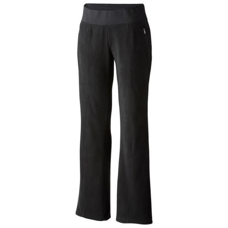 Columbia Sportswear Fast Trek Fleece Pants (For Plus Size Women)