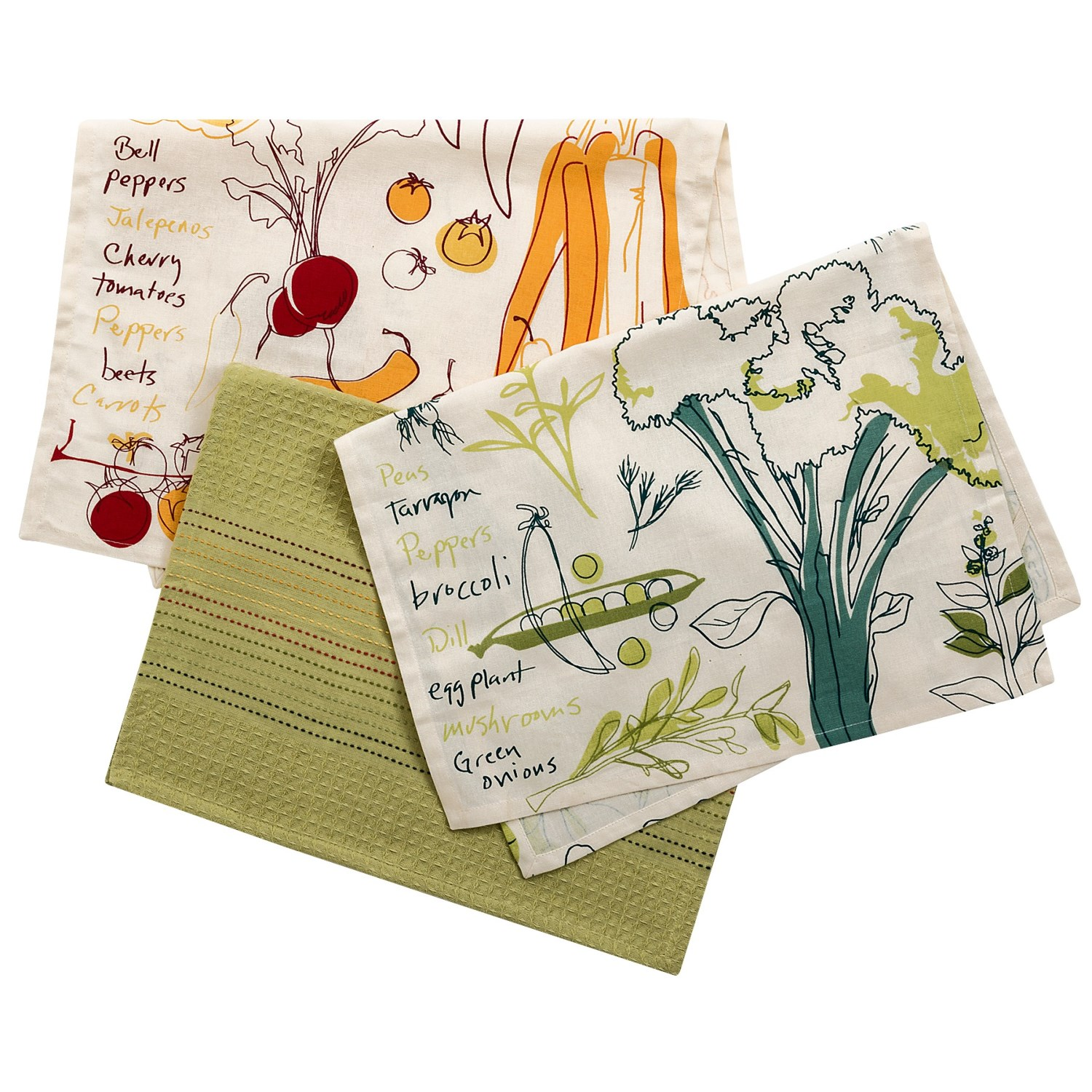 Tag French Kitchen Dish Towels Cotton Set Of 3 8993k Save 37