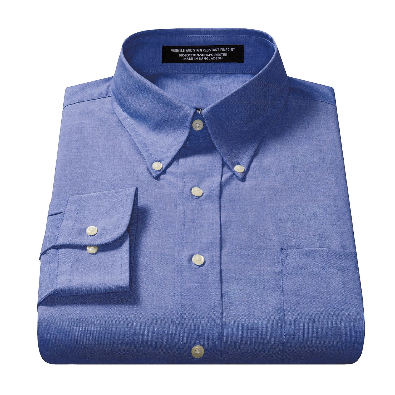 wrinkle resistant travel dress shirt for men 89942
