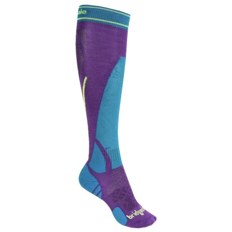 Bridgedale Vertige MerinoFusion Socks - Merino Wool, Over the Calf (For Women)
