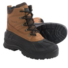 Kamik Snowsport Snow Boots - Waterproof, Thinsulate® (For Men) in Black/Tan - Closeouts