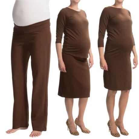 Belly Basics Pregnancy Survival Kit - Stretch Cotton, 4-Piece Set (For Women)