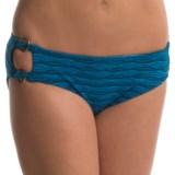 Aqua Soleil O-Ring Bikini Bottoms - Low Rise (For Women)