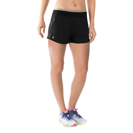 SmartWool PhD Run Shorts - Merino Wool, Built-In Briefs (For Women)