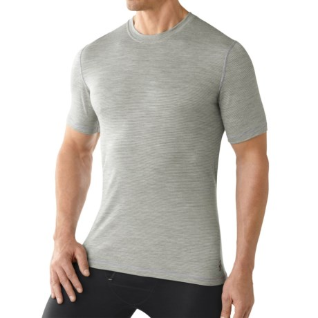 SmartWool NTS 150 Pattern Base Layer T-Shirt - Merino Wool, Short Sleeve (For Men)