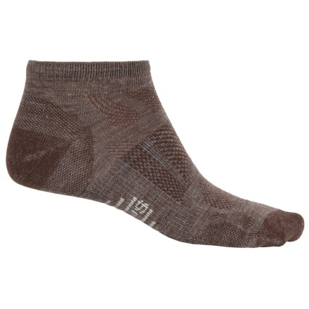 SmartWool Outdoor Sport Ultra Light Micro Socks - Merino Wool (For Men and Women) in Taupe - 2nds