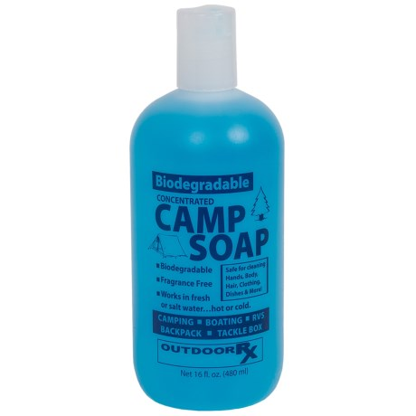 Outdoor Rx Biodegradable Camp Soap - 16 fl.oz.