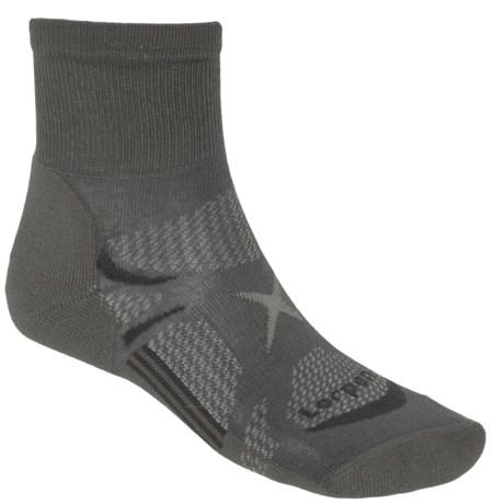 Lorpen Shorty Light Hiking Socks - Quarter Crew (For Men and Women)