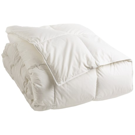 Down Inc . Premium White Duck Down Comforter - King, Midweight Weight